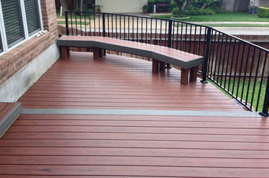 Rockwall Deck Staining Service