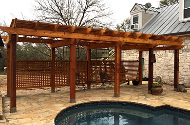Pergola and Arbor Staining Rockwall, Texas